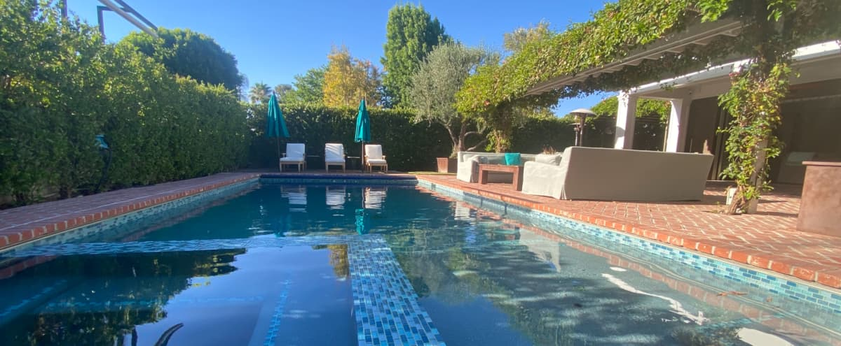 Vibrant Patio Poolside Production Space in Pacoima Hero Image in Encino, Pacoima, CA