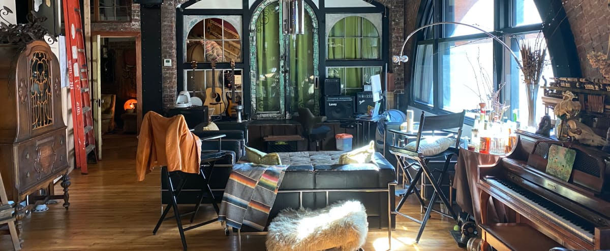 Spaceious  Loft in a turn-of-the-century warehouse in Brooklyn Hero Image in Dumbo, Brooklyn, NY