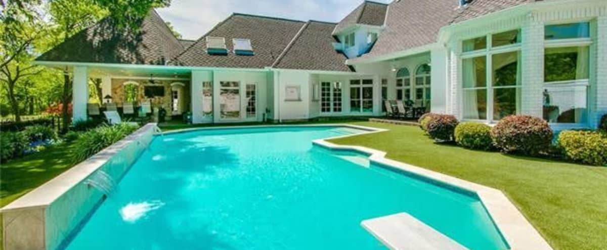 Unique Outdoor Pool and Beautiful Green Space Backyard! in Colleyville Hero Image in undefined, Colleyville, TX