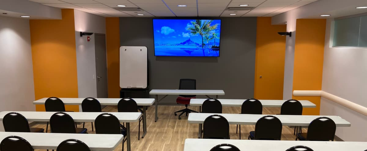 Seminar Room B in New York Hero Image in Midtown Manhattan, New York, NY