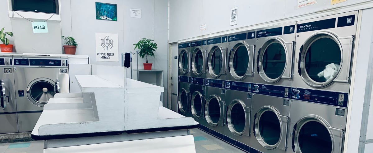 80's/90's Laundromat Location in Downtown LA in Los Angeles Hero Image in Westlake, Los Angeles, CA