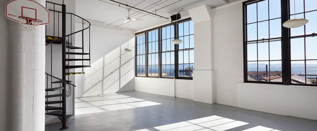 Spacious Photo Studio overlooking SF Bay in San Francisco Hero Image in Potrero Hill, San Francisco, CA