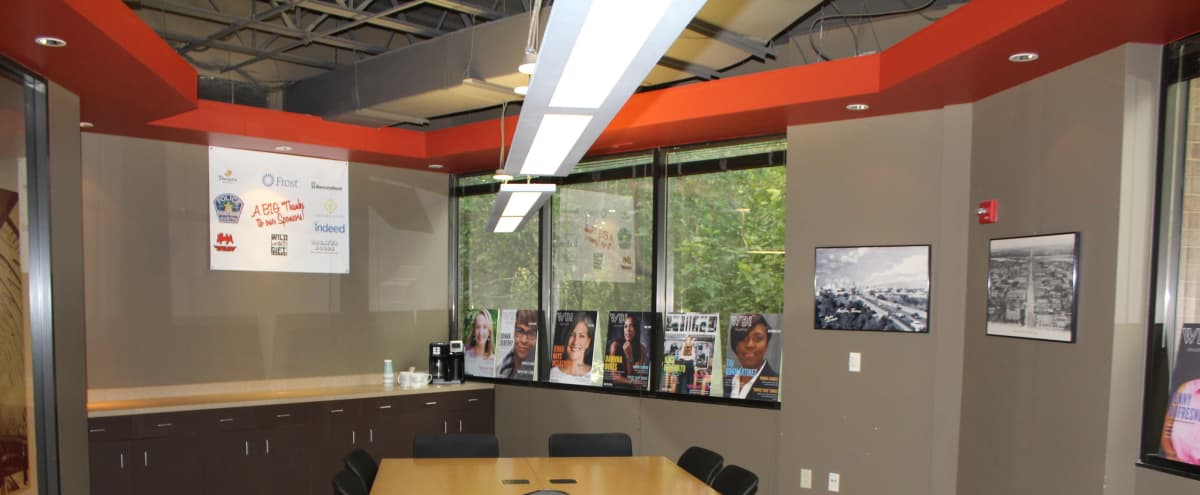 Northeast Conference Meeting Room in Austin Hero Image in Berkley Square - Headway, Austin, TX