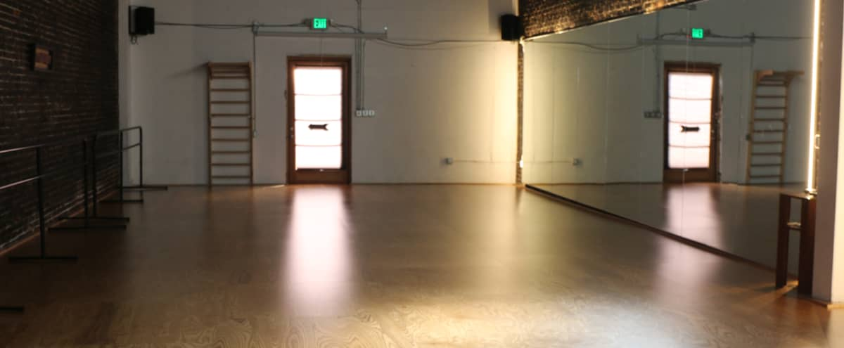 Gorgeous 1150 Square Foot Dance Studio with Aerial Points in Los Angeles Hero Image in Northeast Los Angeles, Los Angeles, CA