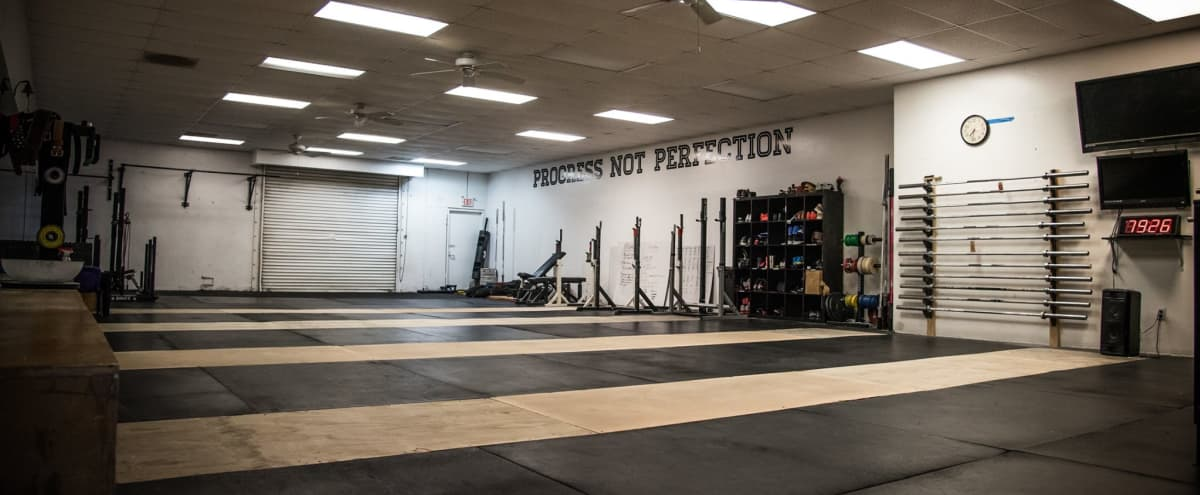 Open Floor Place Gym with Functional Fitness Equipment in San Marcos Hero Image in undefined, San Marcos, CA