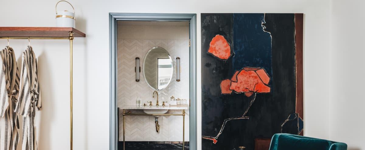 Cozy Studio Room with Stunning Bathroom | #2 in Los Angeles Hero Image in Hollywood, Los Angeles, CA