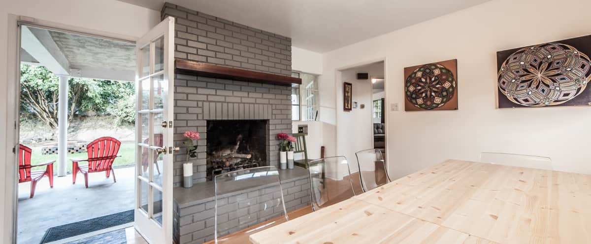 Spacious Home with OPEN Flow. Lots of seating, Back Yard, BBQ, Fire Pit & Hot Tub in Marina Del Rey Hero Image in Venice, Marina Del Rey, CA