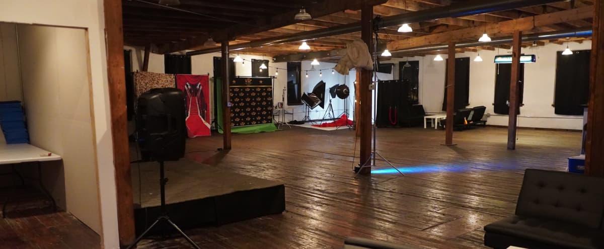 Versatile Studio Space great for Film, Photoshoot, and Parties in Philadelphia Hero Image in Norris Square, Philadelphia, PA