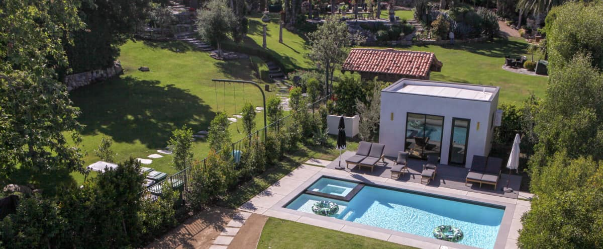 Incredible Designer LA Home Surrounded By 2 Acres of Greenery in Los Angeles Hero Image in Mar Vista, Los Angeles, CA