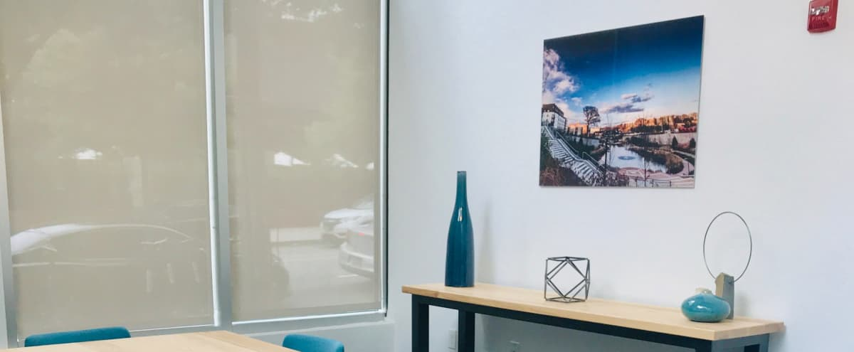 Modern Meeting Room Across the street from Ponce City Market with free parking! in Atlanta Hero Image in Old Fourth Ward, Atlanta, GA