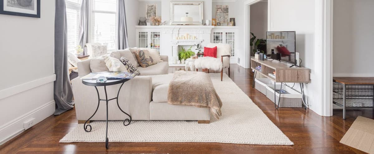 Spacious Remodeled 1920's Marina Flat | Perfect for Baby & Bridal Showers in San Francisco Hero Image in Marina District, San Francisco, CA