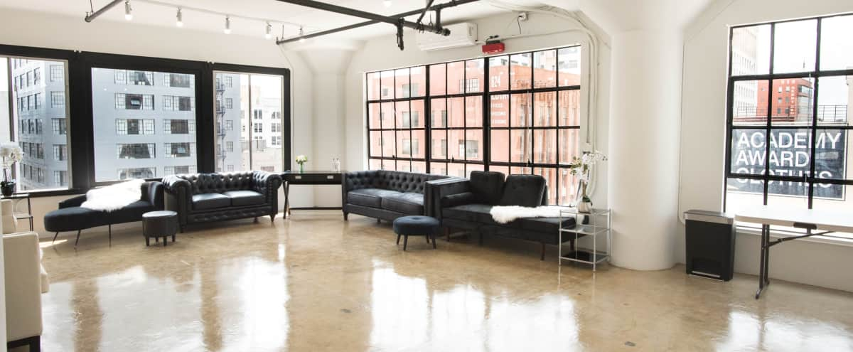 DTLA Polished & Elegant 4000 Sq Ft Studio with AC / Pop-Up, Art Walk Shows, Birthdays, Baby Showers, Celebrations in los angeles Hero Image in Central LA, los angeles, CA