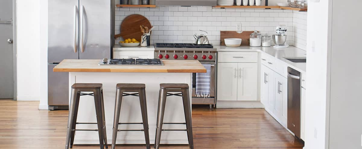 Elegant Naturally Lit NoMad Kitchen in NEW YORK Hero Image in Midtown Manhattan, NEW YORK, NY