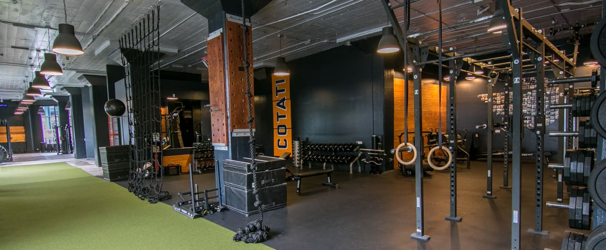 Modern Loft Fitness Facility in SoMa in San Francisco Hero Image in SoMa, San Francisco, CA