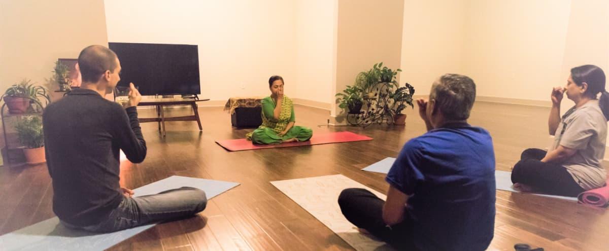 A serene yoga studio in a quiet location in Alpharetta in Alpharetta Hero Image in undefined, Alpharetta, GA