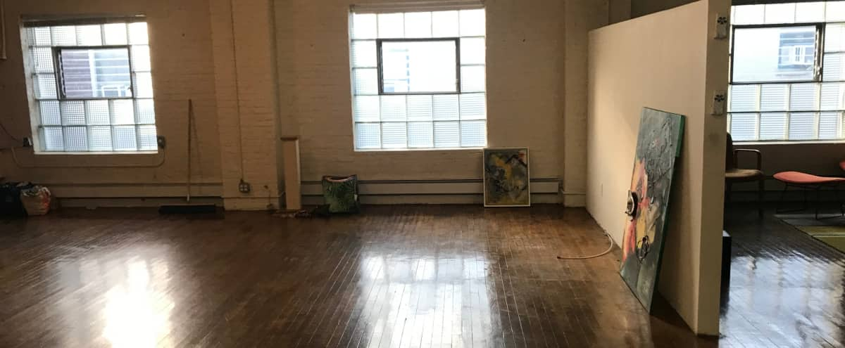 Spacious loft with large terrace for any imagination in Long Island Hero Image in Hunters Point, Long Island, NY