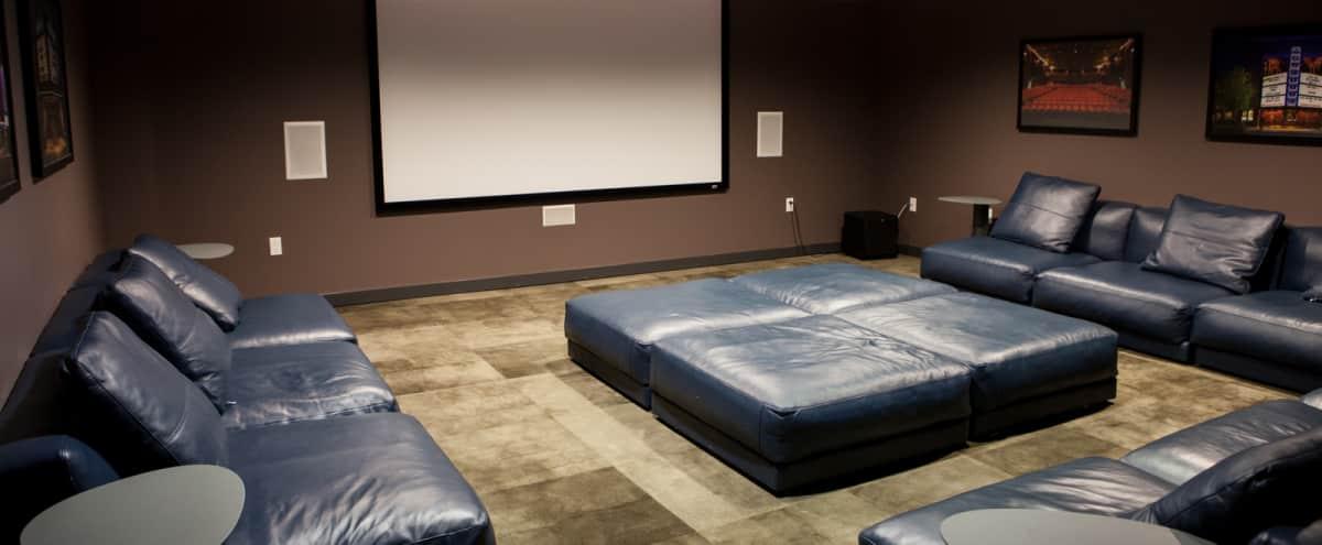 Screening Room in Redmond in Redmond Hero Image in Downtown, Redmond, WA
