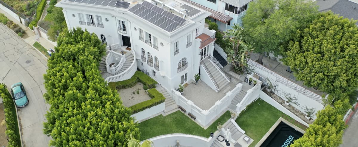 Hollywood Mansion with stunning city views in los angeles Hero Image in Central LA, los angeles, CA