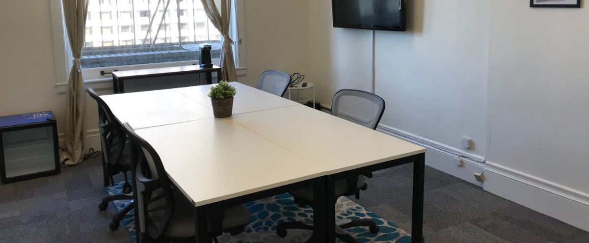 Meeting Room with Natural Sunlight & Stunning Views in Dowtown in San Francisco Hero Image in Tenderloin, San Francisco, CA