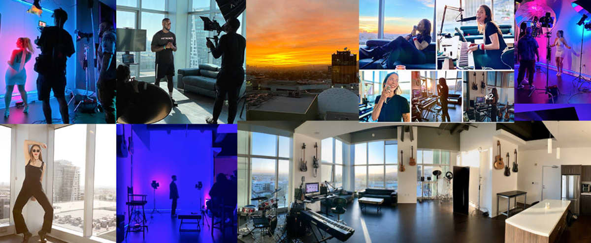 Hollywood High Rise Loft & Studio w/Great Views! in Los Angeles Hero Image in Hollywood, Los Angeles, CA