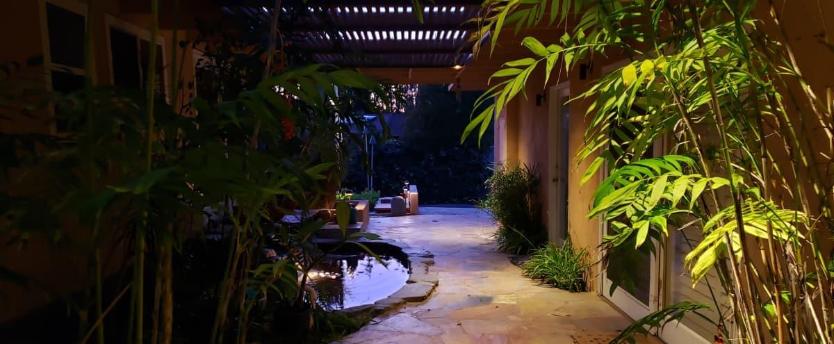Tropical 1960's Gem w/ 5 Lane Pool, Bomb Shelter & 1 Bathroom Pool House. On-site Parking Avail. in Glendale Hero Image in Verdugo Viejo, Glendale, CA