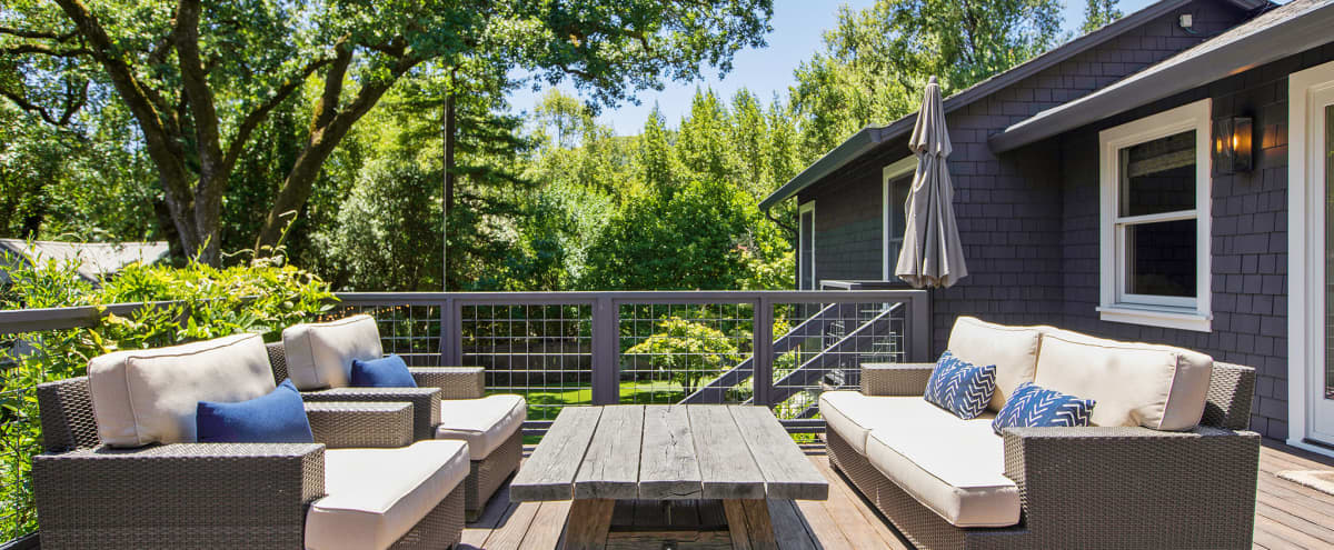 Hamptons Style Home in Parklike Setting in San Anselmo Hero Image in undefined, San Anselmo, CA