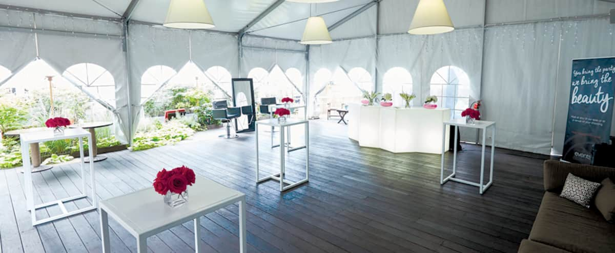 Spacious Salon and All Weather Rooftop in New York Hero Image in Midtown, New York, NY