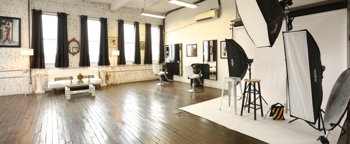 Industrial Loft Photo Studio in Bridgeport Hero Image in East Side, Bridgeport, CT