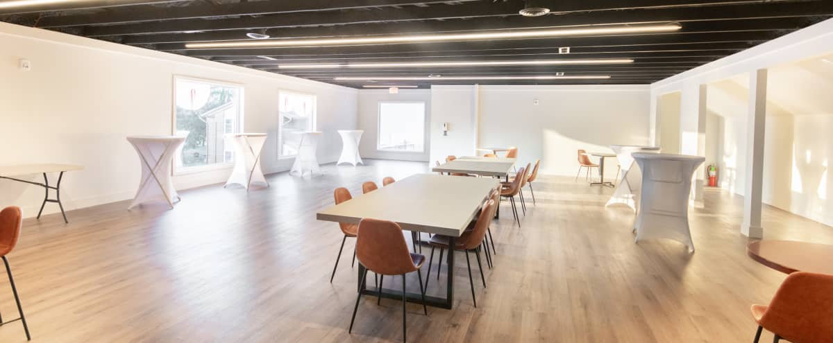Private New Modern Event Space With Full Kitchen in Edgewater Park Hero Image in undefined, Edgewater Park, NJ