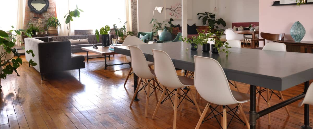 Large 2800sqft Loft for small Event in Brooklyn Hero Image in Clinton Hill, Brooklyn, NY