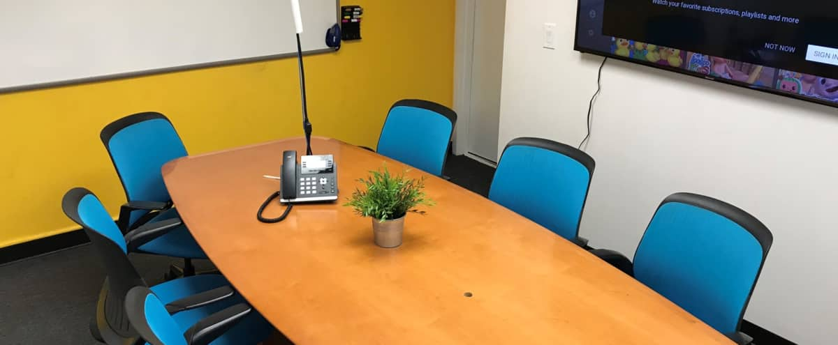Professional and Spacious Downtown Meeting Room in Palo Alto in Palo Alto Hero Image in Ventura, Palo Alto, CA