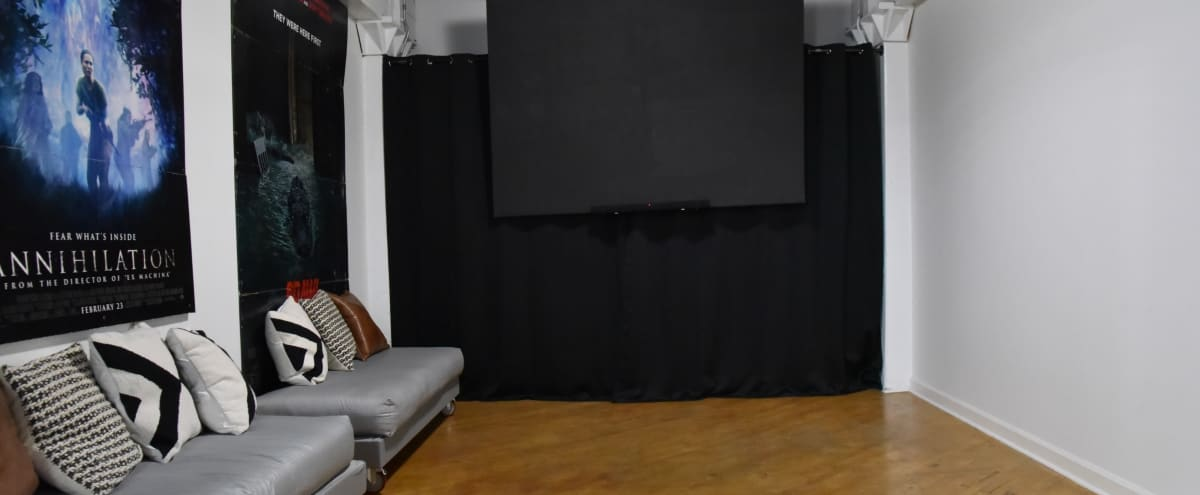 Cozy South loop Loft with 2 projector screens in Chicago Hero Image in Lower West Side, Chicago, IL