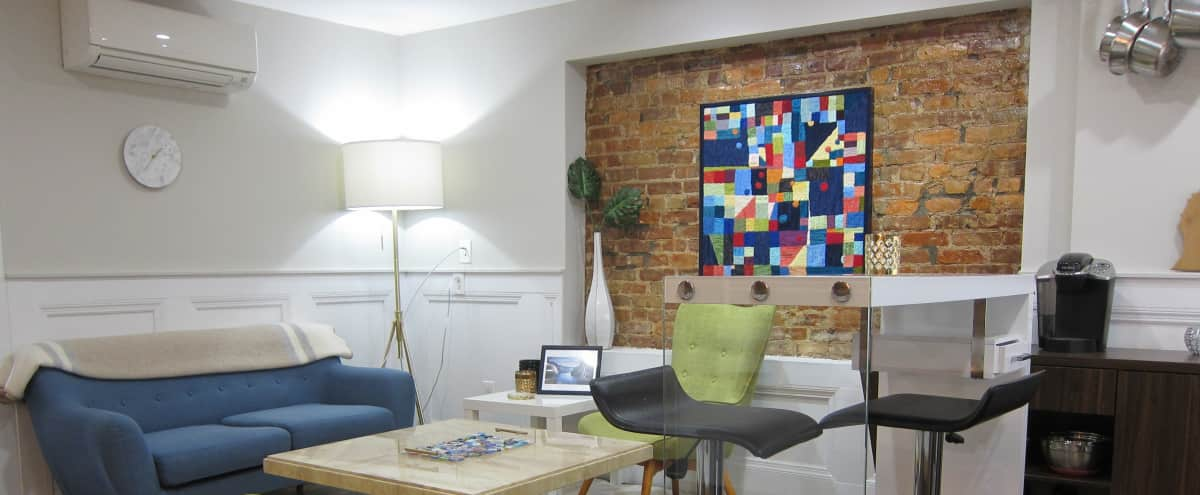 Huge Mid Century Modern Apartment with Garden in Brooklyn Hero Image in Bedford-Stuyvesant, Brooklyn, NY