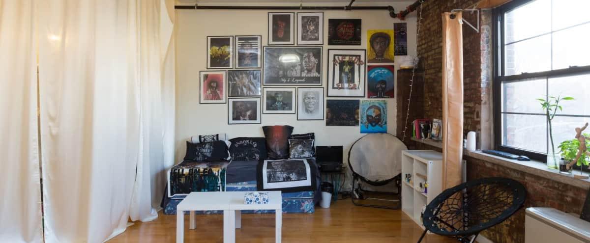 Amazing HUGE LOFT in Bed-Stuy Brooklyn in Brooklyn Hero Image in Bedford-Stuyvesant, Brooklyn, NY