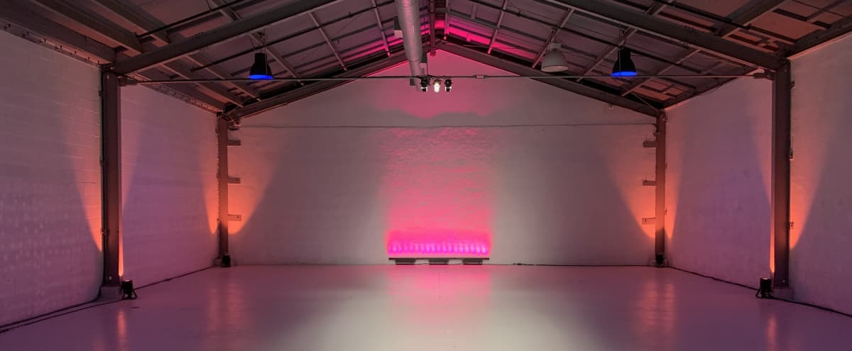5000 Sq ft. Industrial Warehouse Space - Great for private events/ Industry Mixers/ Showcases in Glendale Hero Image in Vineyard, Glendale, CA