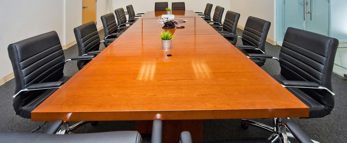Spacious Corporate Conference Room in New York Hero Image in Midtown, New York, NY