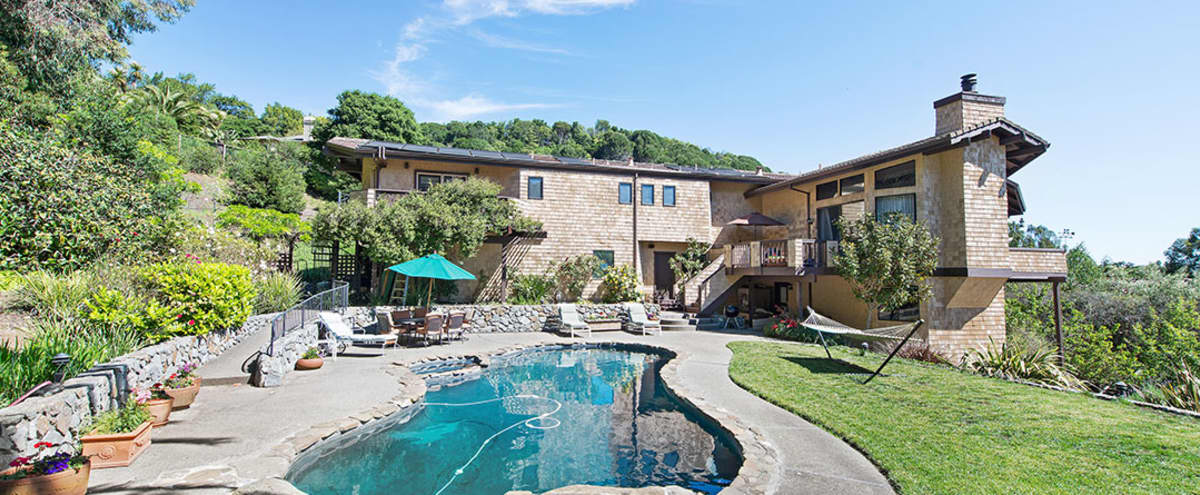 Resort Like Urban Setting with Privacy and amazing Views and Open Space in San Rafael Hero Image in undefined, San Rafael, CA
