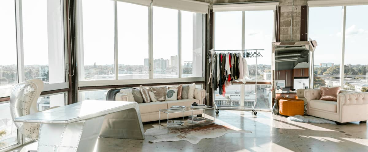 Daylight Loft Photo Studio with High Ceilings in Miami Hero Image in Upper East Side, Miami, FL