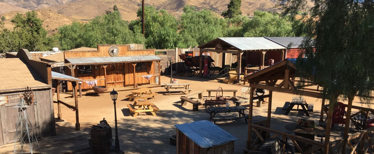 Stunning and Unique Western Town in agua dulce Hero Image in undefined, agua dulce, CA