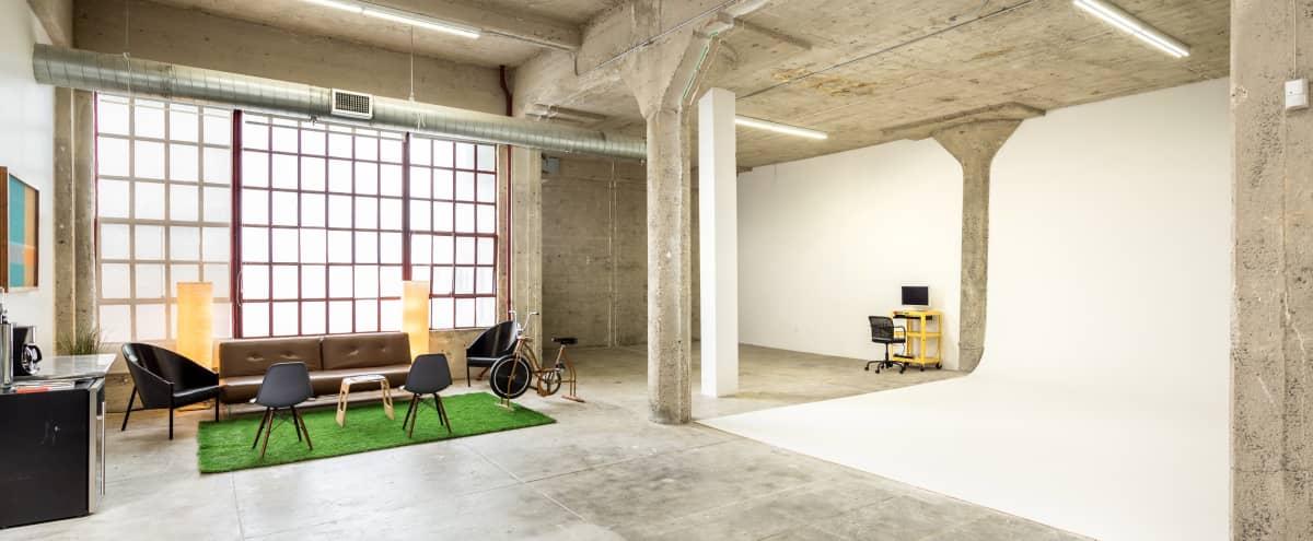 Studio / Spacious Industrial Downtown Studio in DTLA in Los Angeles Hero Image in Central LA, Los Angeles, CA