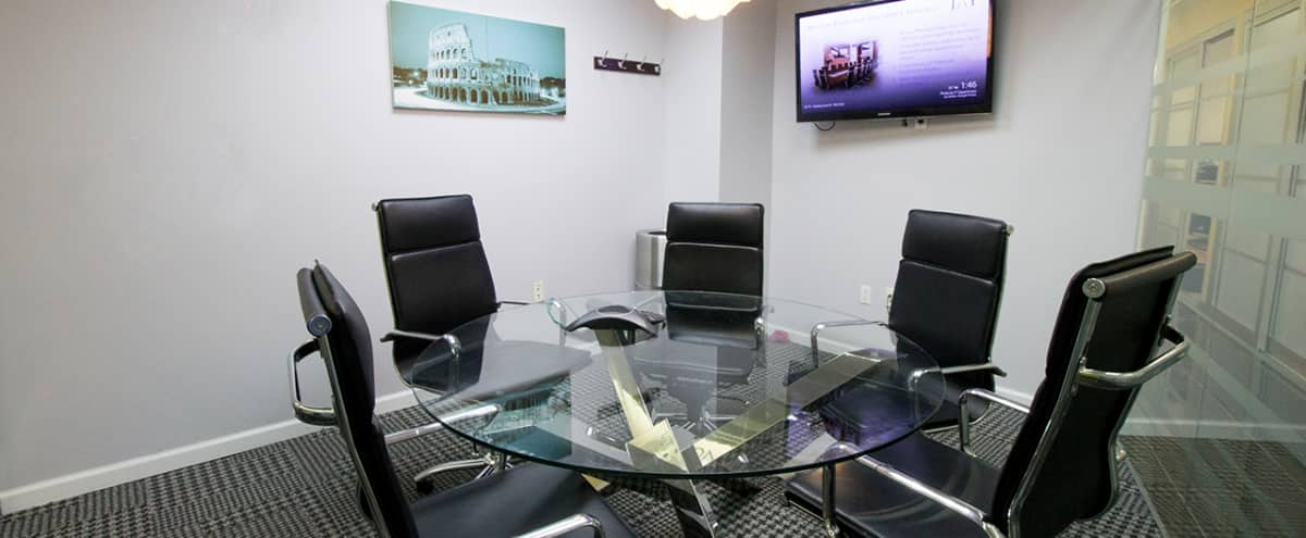 Great Meeting Room for 6,Steps away from Penn Station - Meeting Room B in NEW YORK Hero Image in Midtown, NEW YORK, NY