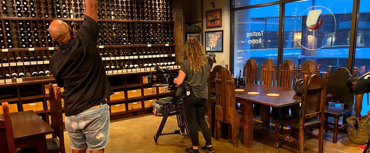 European style Wine Cellar in Downtown Atlanta in Atlanta Hero Image in Downtown Atlanta, Atlanta, GA