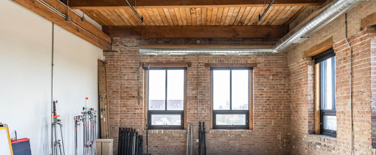 Spacious, Well-lit Photo & Video Studio in chicago Hero Image in Pilsen, chicago, IL