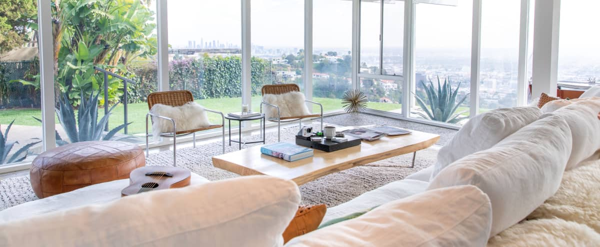 Hollywood Hills Mid-Century House with City Views in Los Angeles Hero Image in Hollywood Hills, Los Angeles, CA