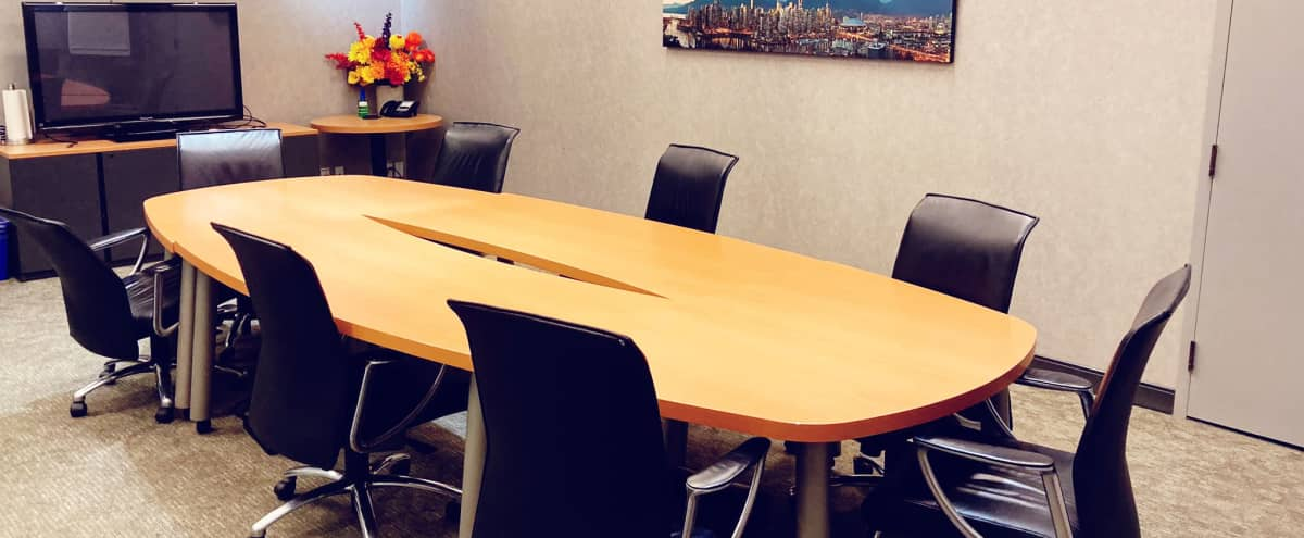 W Broadway Large Meeting Room in Vancouver Hero Image in Fairview, Vancouver, BC