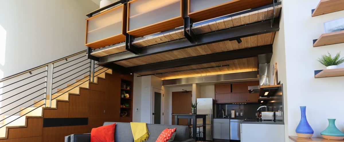 Elegant Meeting Loft in Historic South Lake Union Boutique Building in Seattle Hero Image in South Lake Union, Seattle, WA