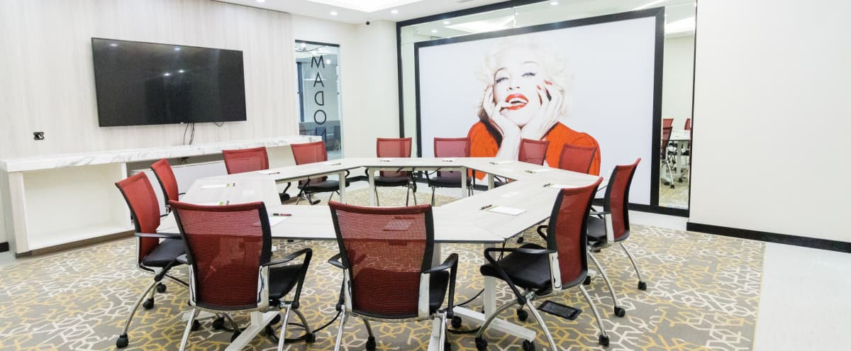 Gorgeous Brand New 40 person Meeting Space-Plaza District-now 40% OF in New York Hero Image in Midtown Manhattan, New York, NY