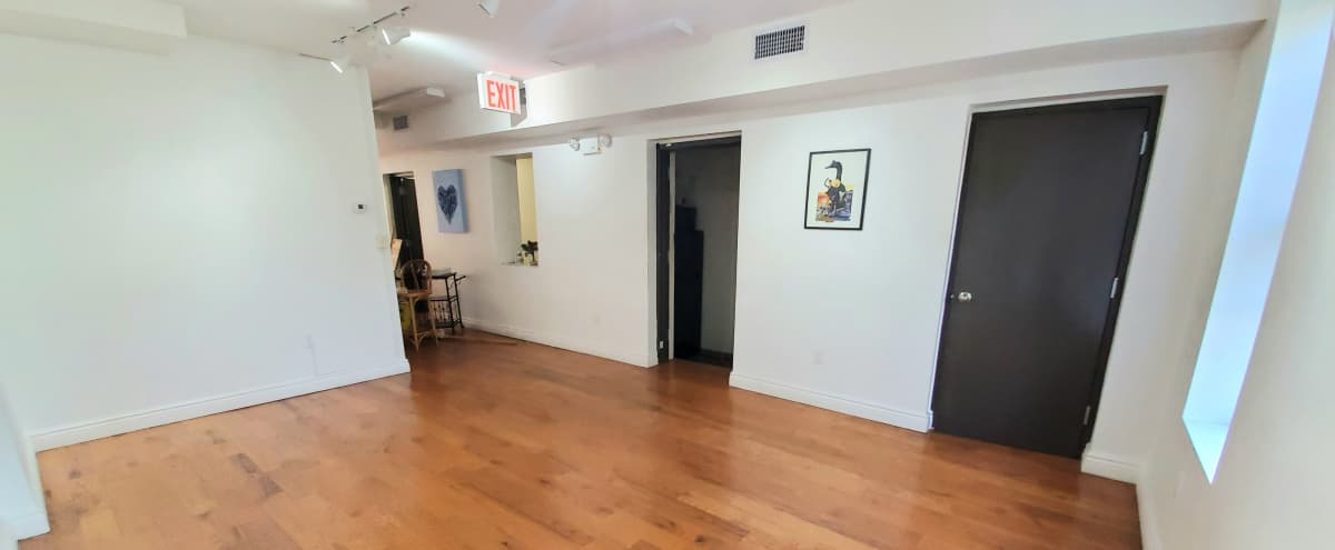 Gallery Space with Large Outdoor Deck in Ocean Hill in Brooklyn Hero Image in Ocean Hill, Brooklyn, NY