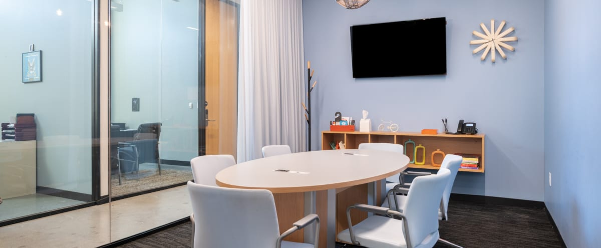 Urban Contemporary 6 Person Meeting Room - Granite Place in Southlake Hero Image in undefined, Southlake, TX