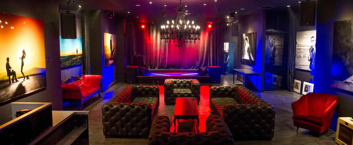​Ultra Chic, Rock n Roll Party, Music, & Screening Space in the Heart of Hollywood in Los Angeles Hero Image in Central LA, Los Angeles, CA